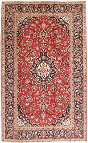 カシャン 絨毯 195X307 オリエンタル 手織り 茶/薄茶色 (ウール, ペルシャ/イラン)