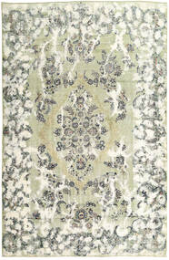 Colored Vintage Rug 235X355 Authentic  Modern Handknotted Beige/Light Grey (Wool, Persia/Iran)