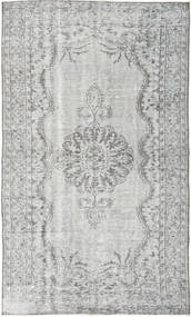 Colored Vintage Tapete 160X267 Moderno Feito A Mão Cinzento Claro/Cinza Escuro (Lã, Turquia)