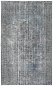 Colored Vintage Rug 169X278 Authentic  Modern Handknotted Blue/Light Grey (Wool, Turkey)