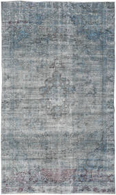 Colored Vintage Rug 168X282 Authentic  Modern Handknotted Light Grey/Blue/Light Blue (Wool, Turkey)