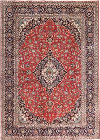 Keshan Patina Matta 275X385 Äkta Orientalisk Handknuten Mörklila/Ljusbrun Stor (Ull, Persien/Iran)