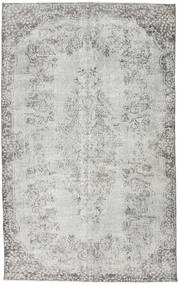Colored Vintage Rug 166X265 Authentic  Modern Handknotted Light Grey/Beige (Wool, Turkey)