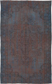 Colored Vintage Rug 174X287 Authentic  Modern Handknotted Dark Grey/Dark Brown (Wool, Turkey)