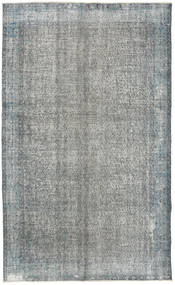 カラード ヴィンテージ 絨毯 165X271 モダン 手織り 薄い灰色/濃いグレー (ウール, トルコ)