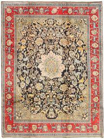Keshan Rug 227X300 Authentic  Oriental Handknotted Light Brown/Dark Brown (Wool, Persia/Iran)