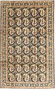 Najafabad Matto 196X320 Itämainen Käsinsolmittu Vaaleanruskea/Tummanharmaa (Villa, Persia/Iran)