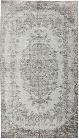 Colored Vintage Rug 153X273 Authentic  Modern Handknotted Light Grey/Dark Grey (Wool, Turkey)