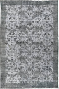 Colored Vintage Rug 198X300 Authentic  Modern Handknotted Light Blue/Light Grey/Blue (Wool, Turkey)
