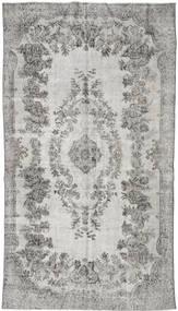 Colored Vintage Rug 156X287 Authentic  Modern Handknotted Light Grey/Dark Grey (Wool, Turkey)