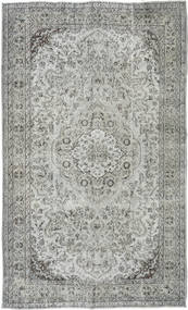 Colored Vintage Rug 170X281 Authentic  Modern Handknotted Light Grey/Dark Grey (Wool, Turkey)