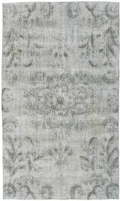Colored Vintage Rug 154X263 Authentic  Modern Handknotted Light Grey (Wool, Turkey)