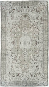 Colored Vintage Rug 163X289 Authentic  Modern Handknotted Light Grey/Dark Grey (Wool, Turkey)