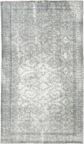 Colored Vintage Rug 168X301 Authentic  Modern Handknotted Light Grey/Beige (Wool, Turkey)