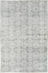 Colored Vintage Rug 162X254 Authentic  Modern Handknotted Light Grey (Wool, Turkey)