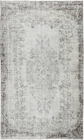 Colored Vintage Rug 163X276 Authentic  Modern Handknotted Light Grey/Beige (Wool, Turkey)