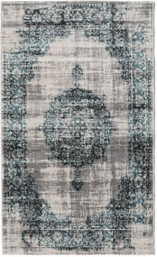 Jinder - Petrol/Greige Rug 100X160 Modern Light Grey/Dark Grey ( Turkey)