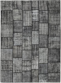 Patchwork Rug 255X352 Authentic  Modern Handknotted Dark Grey/Light Grey Large (Wool, Turkey)