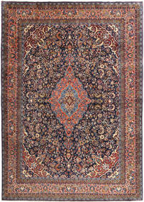 Hamadan Shahrbaf Rug 286X400 Authentic  Oriental Handknotted Dark Red/Dark Brown Large (Wool, Persia/Iran)