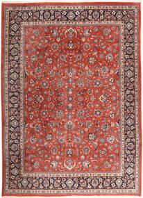 Mashad Teppe 295X401 Ekte Orientalsk Håndknyttet Mørk Rød/Mørk Brun Stort (Ull, Persia/Iran)