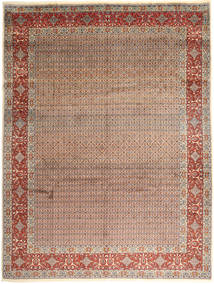Moud Rug 290X385 Authentic  Oriental Handknotted Light Brown/Dark Red Large (Wool, Persia/Iran)