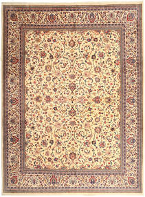 Sarouk Rug 309X417 Authentic  Oriental Handknotted Light Brown/Beige Large (Wool, Persia/Iran)