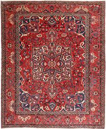 Bakhtiar Teppe 330X407 Ekte Orientalsk Håndknyttet Mørk Brun/Brun Stort (Ull, Persia/Iran)