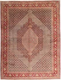 Senneh Tappeto 300X397 Orientale Fatto A Mano Marrone/Marrone Chiaro Grandi (Lana, Persia/Iran)