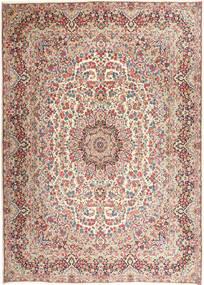 Kerman Teppich  292X400 Echter Orientalischer Handgeknüpfter Hellgrau/Beige Großer (Wolle, Persien/Iran)