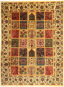 Bakhtiari Rug 298X400 Authentic  Oriental Handknotted Brown/Yellow Large (Wool, Persia/Iran)