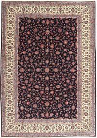 Keshan Rug 249X348 Authentic  Oriental Handknotted Dark Purple/Beige (Wool, Persia/Iran)