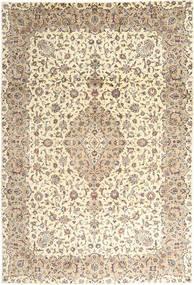 Keshan Alfombra 243X350 Oriental Hecha A Mano Beige/Marrón Claro (Lana, Persia/Irán)