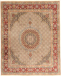 Moud Rug 245X305 Authentic  Oriental Handknotted Brown/Light Brown (Wool, Persia/Iran)