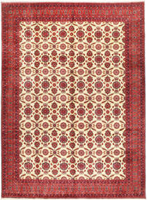 Afghan Khal Mohammadi Rug 295X395 Authentic Oriental Handknotted Dark Red/Rust Red Large (Wool, Afghanistan)