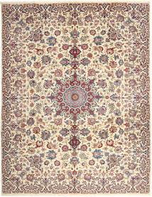 Najafabad Vloerkleed 300X382 Echt Oosters Handgeknoopt Donkerbruin/Beige Groot (Wol, Perzië/Iran)