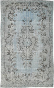 Colored Vintage Rug 166X270 Authentic  Modern Handknotted Light Grey/Dark Grey (Wool, Turkey)