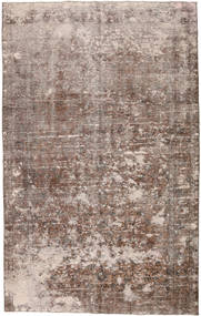 Colored Vintage Rug 178X285 Authentic Modern Handknotted Light Brown/Brown/Light Grey (Wool, Turkey)