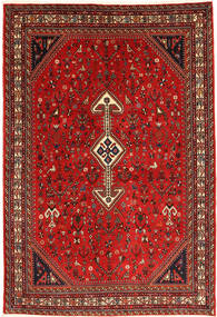 Ghashghai Tapijt 170X245 Echt Oosters Handgeknoopt Donkerrood/Roestkleur (Wol, Perzië/Iran)