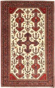 Ghashghai Matta 153X245 Äkta Orientalisk Handknuten Mörkröd/Beige (Ull, Persien/Iran)