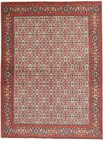 Bidjar Rug 173X237 Authentic  Oriental Handknotted Light Brown/Brown (Wool, Persia/Iran)