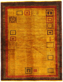 Qashqai Overdyed Rug 145X190 Authentic  Oriental Handknotted Orange/Brown (Wool, Persia/Iran)