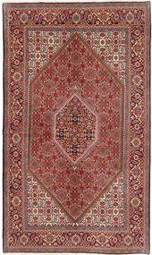 Bidjar Matta 140X232 Äkta Orientalisk Handknuten Brun/Ljusbrun (Ull, Persien/Iran)