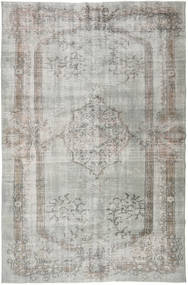 Colored Vintage Rug 190X291 Authentic  Modern Handknotted Light Grey (Wool, Turkey)