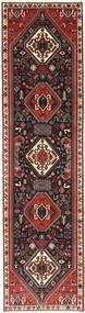 Ghashghai Tapijt 75X303 Echt Oosters Handgeknoopt Tapijtloper Donkerbruin/Roestkleur (Wol, Perzië/Iran)