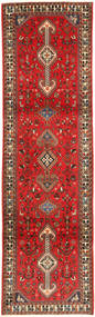 Qashqai Rug 80X290 Authentic  Oriental Handknotted Hallway Runner  Dark Red/Rust Red (Wool, Persia/Iran)