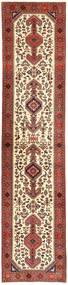 Qashqai Szőnyeg 80X380 Keleti Csomózású Sötétpiros/Bézs (Gyapjú, Perzsia/Irán)