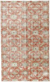 Colored Vintage Teppich 165X274 Echter Moderner Handgeknüpfter Hellbraun/Dunkel Beige (Wolle, Türkei)