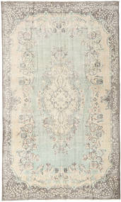 Colored Vintage Rug 185X311 Authentic  Modern Handknotted Beige/Light Grey/Light Brown (Wool, Turkey)