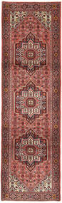 Gholtogh Rug 85X292 Authentic  Oriental Handknotted Hallway Runner  Brown/Dark Brown (Wool, Persia/Iran)