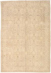 カラード ヴィンテージ 絨毯 220X314 モダン 手織り ベージュ/薄茶色 (ウール, トルコ)